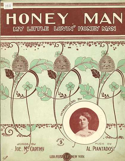 Sheet Music - Honey man