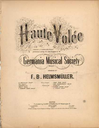Sheet Music - Hurrah Sturm Galop