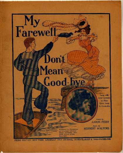 Sheet Music - My farewell don't mean good-bye