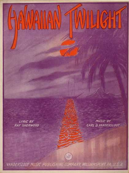 Sheet Music - Hawaiian twilight