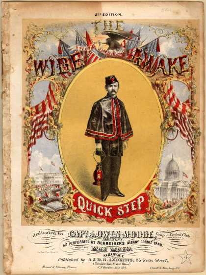 Sheet Music - The Wide Awake quick step