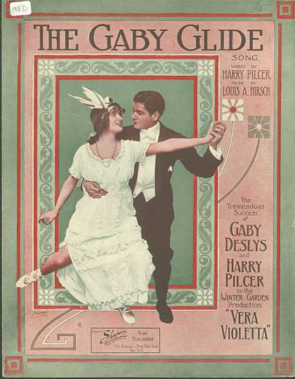Sheet Music - The Gaby glide