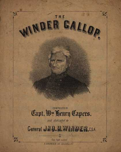 Sheet Music - The Winder gallop