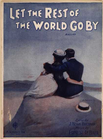 Sheet Music - Let the rest of the world go by