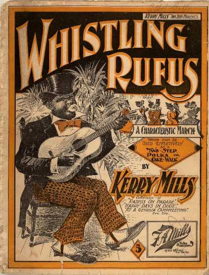 Sheet Music - Whistling Rufus