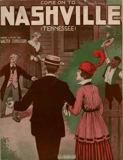 Sheet Music - Come on the Nashville Tennessee