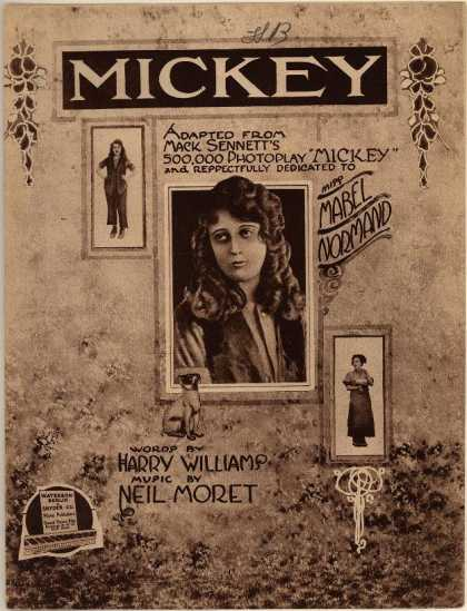 Sheet Music - Mickey