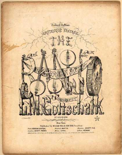 Sheet Music - The banjo; Grotesque fantasie