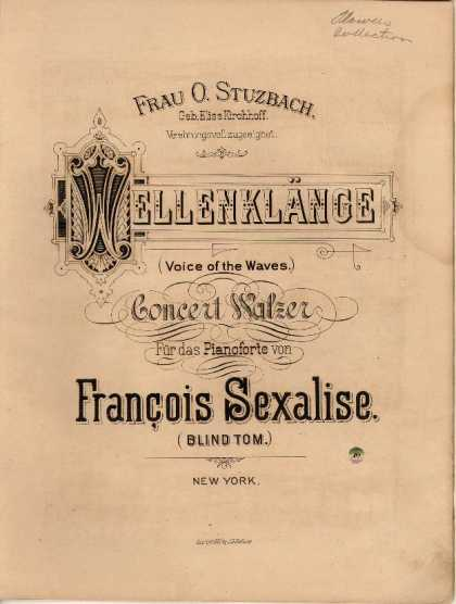 Sheet Music - Wellenklange; Voice of the waves
