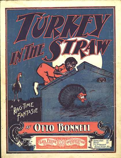 Sheet Music - Turkey in the straw