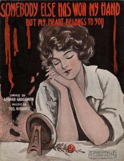 Sheet Music - Somebody else has won my hand but my heart belongs to you