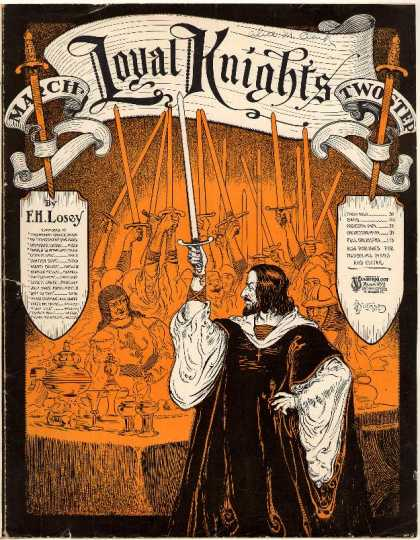 Sheet Music - Loyal knights march; Op. 204