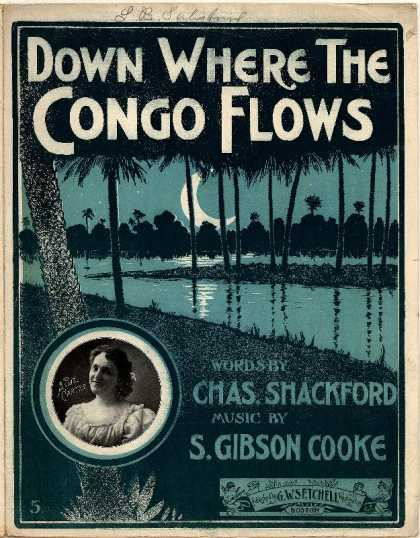 Sheet Music - Down where the Congo flows