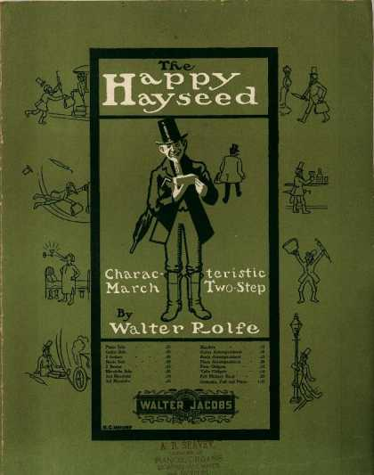 Sheet Music - The happy hayseed