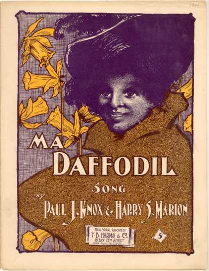 Sheet Music - Ma daffodil
