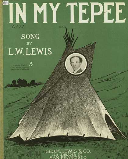 Sheet Music - In my tepee