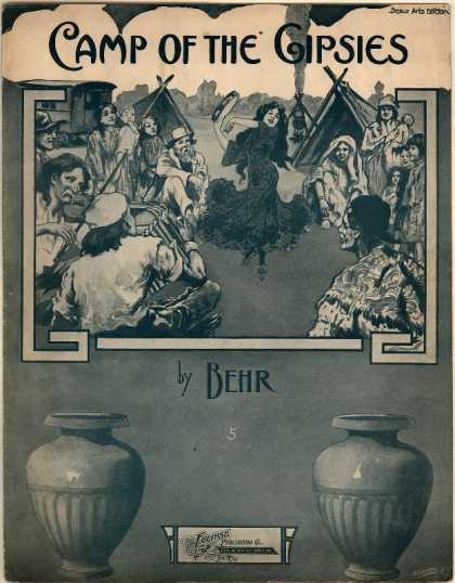 Sheet Music - Camp of the gipsies; Im Zigeunerlager; Op. 424, no. 3