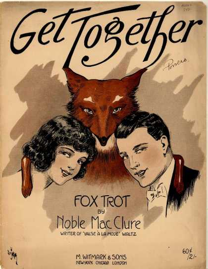 Sheet Music - Get together; Fox trot