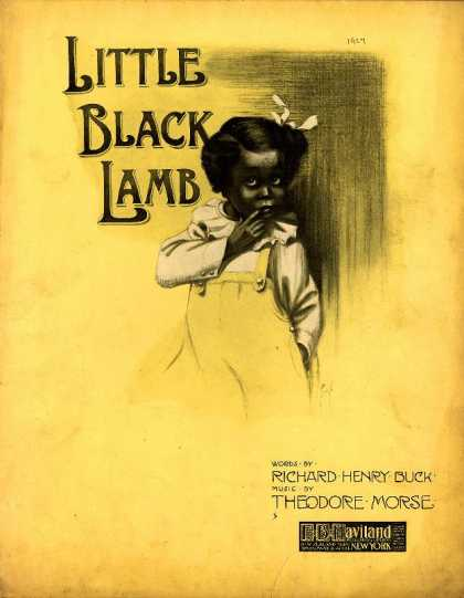 Sheet Music - Little black lamb