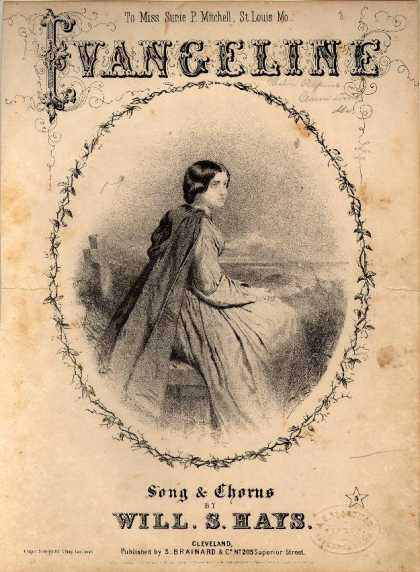 Sheet Music - Evangeline