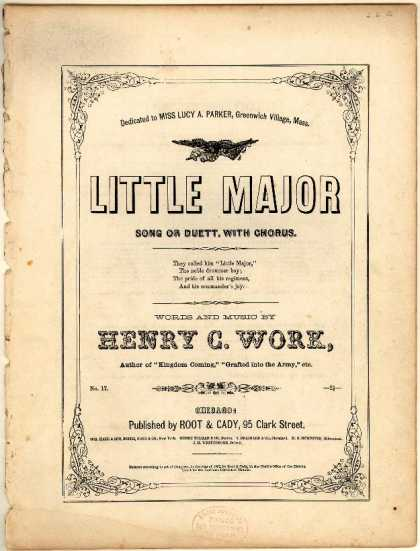 Sheet Music - Little major; No. 17