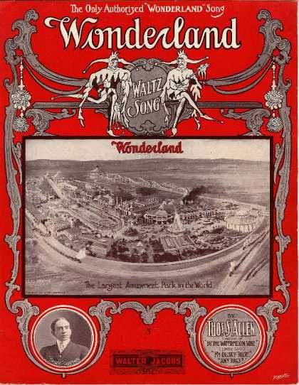 Sheet Music - Wonderland; Waltz song