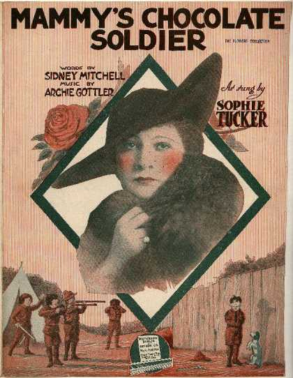 Sheet Music - Mammy's chocolate soldier