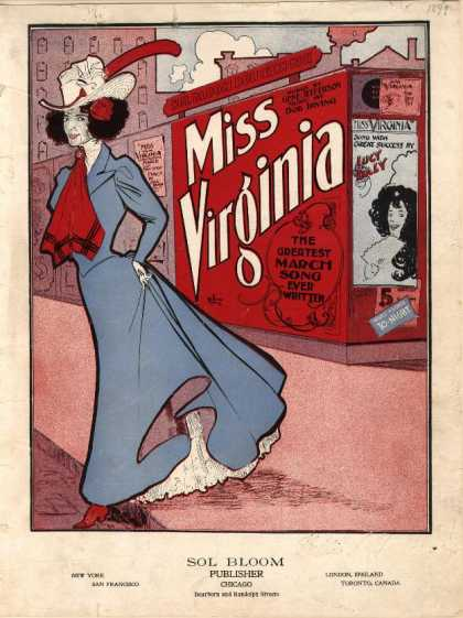 Sheet Music - Miss Virginia