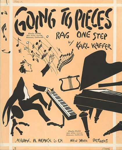 Sheet Music - Going to pieces
