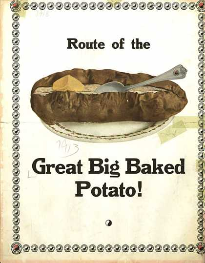Sheet Music - Great big baked potato