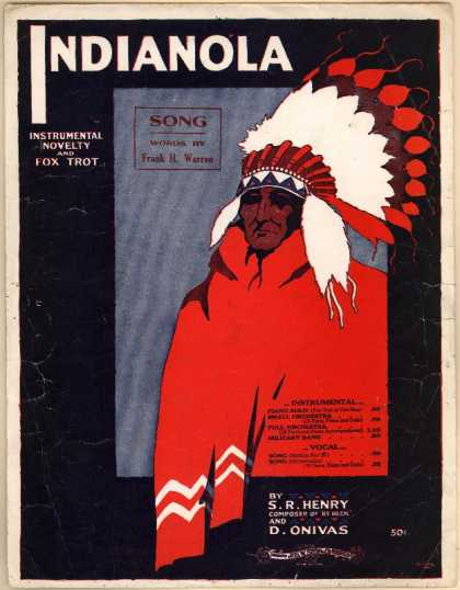 Sheet Music - Indianola