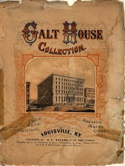 Sheet Music - Galt House polka