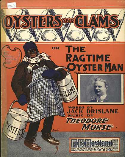 Sheet Music - Oysters and clams