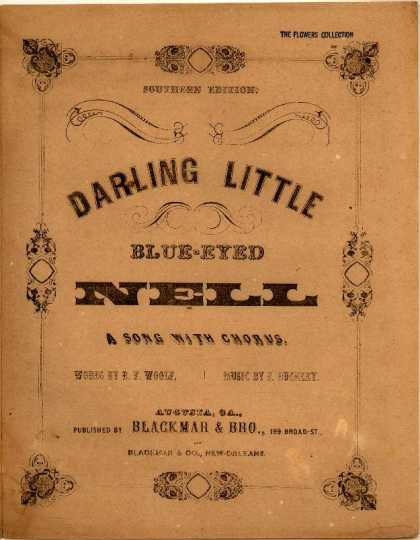 Sheet Music - Darling little blue-eyed Nell