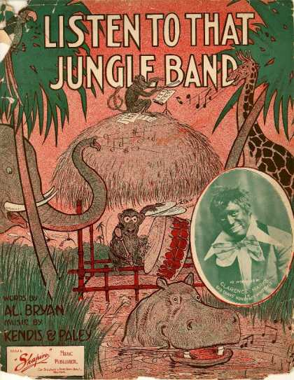 Sheet Music - Listen to that jungle band
