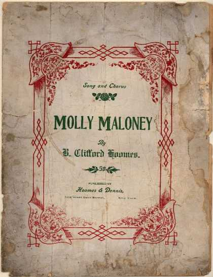 Sheet Music - Molly Maloney