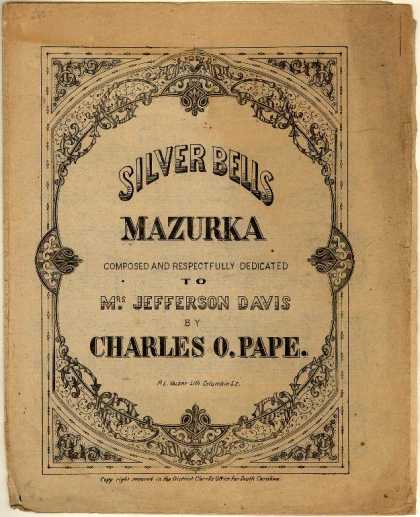 Sheet Music - Silver bells mazurka