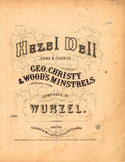 Sheet Music - Hazel dell