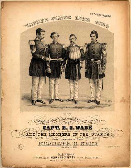 Sheet Music - Warren Guards quick step