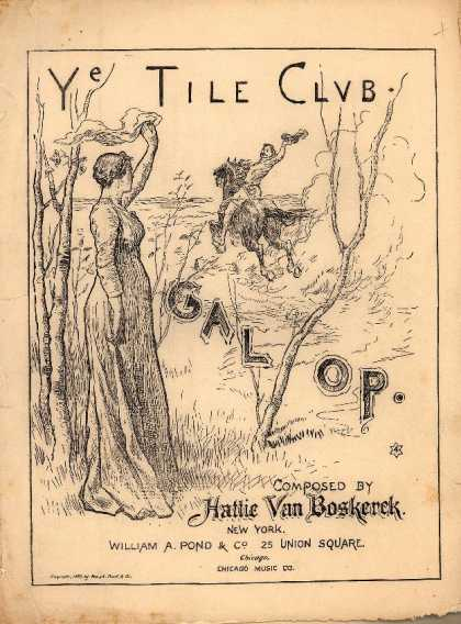 Sheet Music - Ye Tile Club galop; Tile Club galop