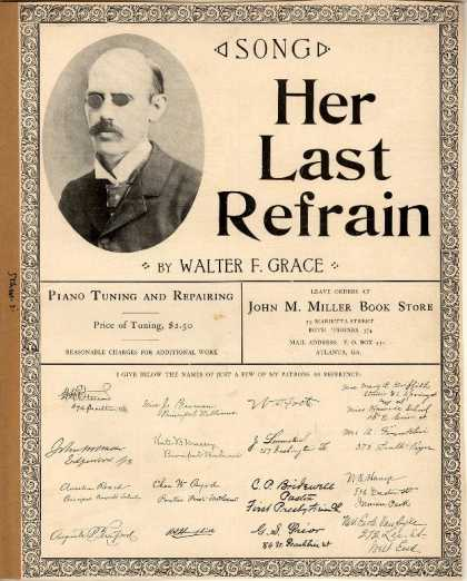 Sheet Music - Her last refrain