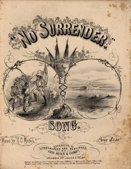 Sheet Music - No surrender