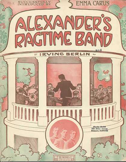 Sheet Music - Alexander's ragtime band
