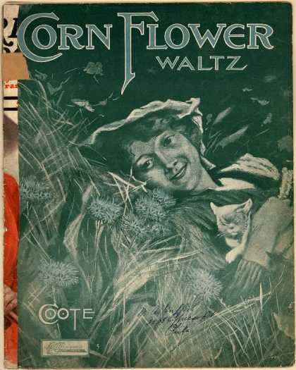 Sheet Music - Corn flower waltz
