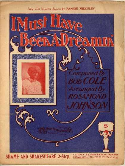 Sheet Music - I must have been a dreamin'; Browns in town