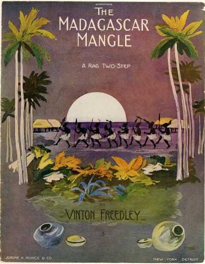 Sheet Music - Madagascar mangle; Rag two-step