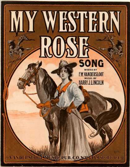 Sheet Music - My western rose