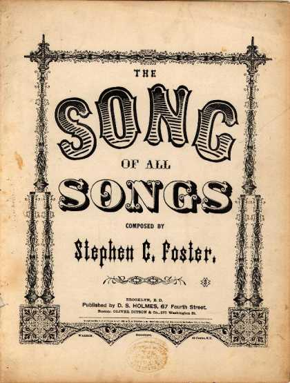 Sheet Music - The song of all songs