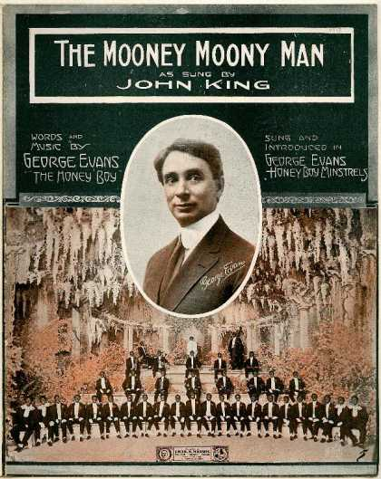 Sheet Music - The mooney, mooney man