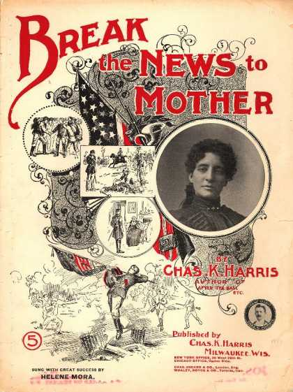 Sheet Music - Break the news to mother